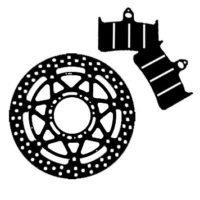 Frenos Moto - Pastillas y discos de freno
